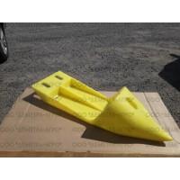504033 Носок стеблеотделителя желтый