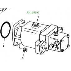 AH169693 Мотор (насос ГСТ) John Deere